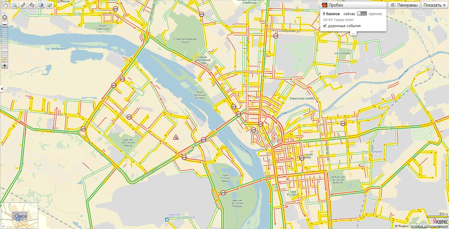 пробка на борском мосту сейчас онлайн карта смотреть