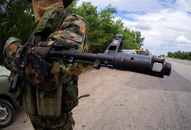 Украинские силовики, окруженные под Луганском, начали переговоры с ополченцами