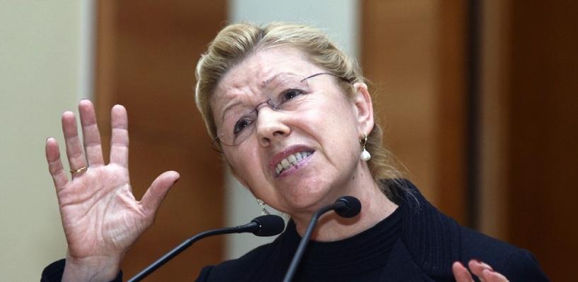 Мизулина стала одной из самых медийных женщин России