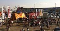 Полицейские разбираются в последствиях штурма цирка-шапито у «Континента»