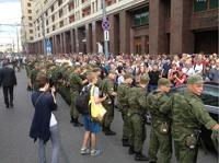 В Москве начали задерживать сторонников Навального