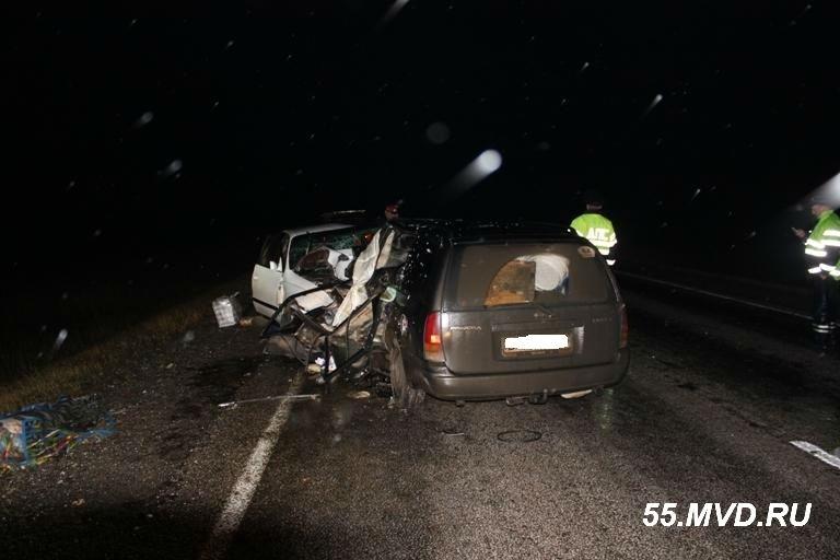 На трассе смерти «Омск-Тюмень» погибли два человека
