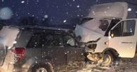 На трассе Тюмень – Омск в лобовой аварии пострадали три человека