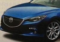 Японцы рассекретили фото новой «трёшки» Mazda