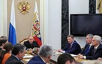 Путин попросил министров придумать, что делать со взяточниками