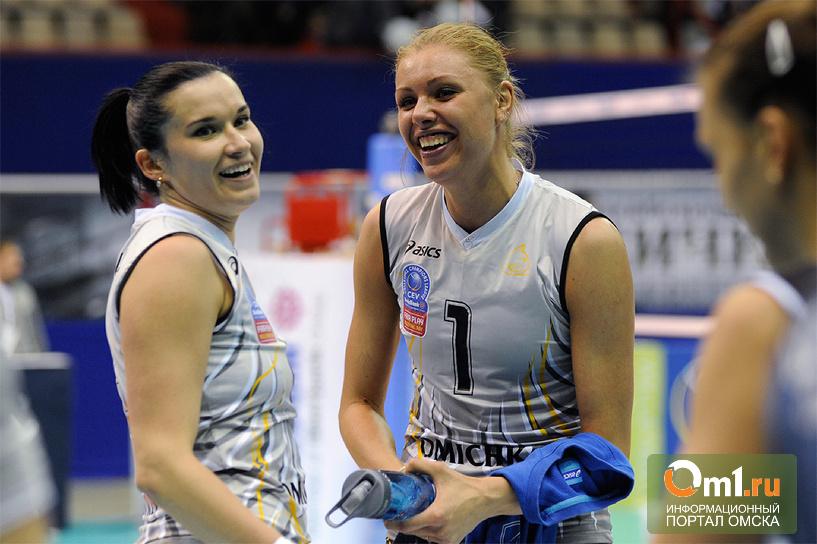 Волейболисток из «Омских кошек» пригласили в сборную страны