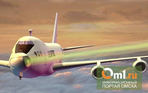 В Омске экипаж заходившего на посадку Boeing-737 пытались ослепить лазером