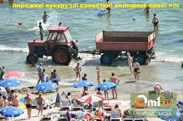 Омичам не нравятся пляжи города