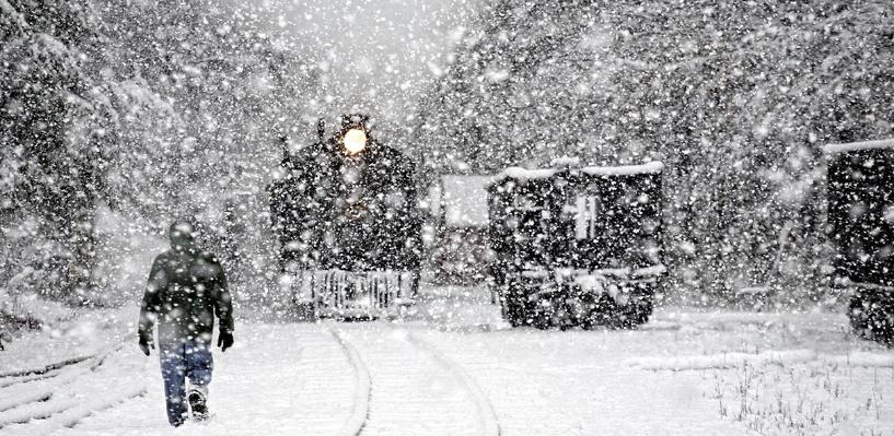 Синоптики пообещали омичам сильные снегопады в апреле