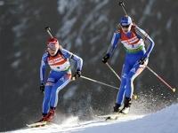 Российские биатлонистки взяли «серебро» в эстафете Кубка мира