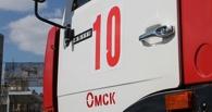 В Омске крупный пожар — горит автоцентр