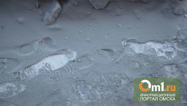 В Омске черный снег оказался золой