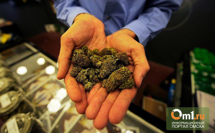 Наркодилер из Казахстана нес марихуану в Омск пешком