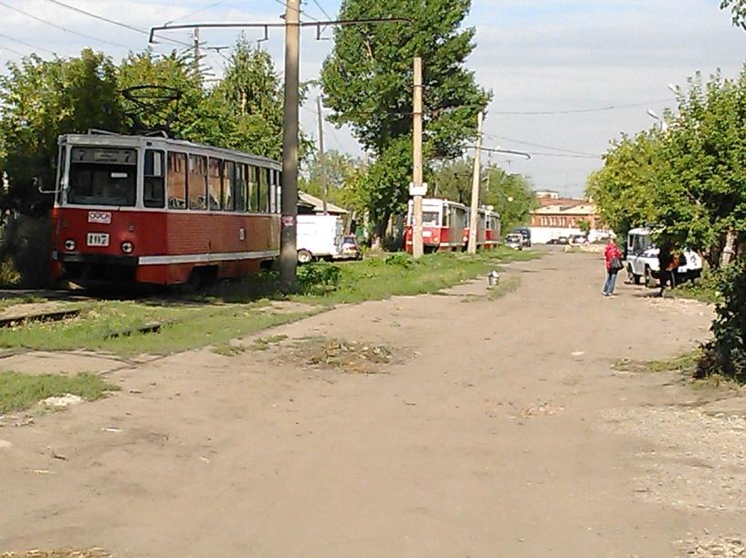 В Омске остановили трамваи из-за забытого рюкзака с едой