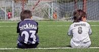 В Омской области на школьника упали футбольные ворота