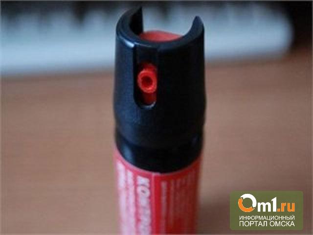 В Омске девочка ради любопытства распылила газовый баллончик в школе