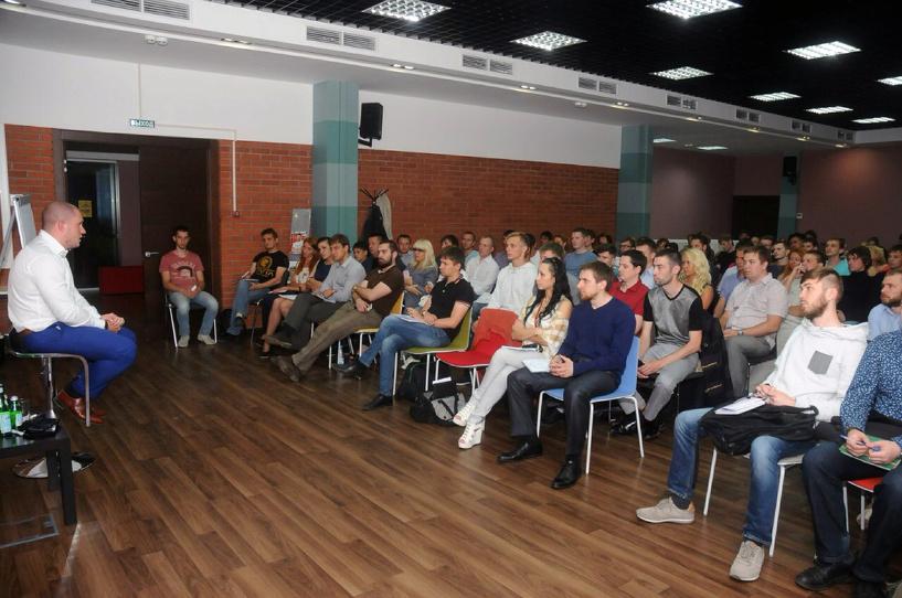 """14 июля 2014 года в Омске компанией STREGAgroup был организован мастер класс """"От слов к делу"""""""