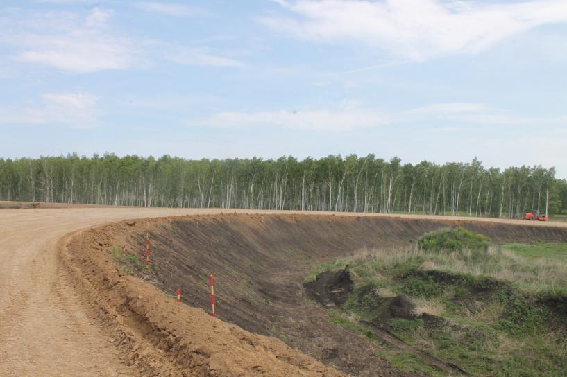 Почти готово: Западный обход Омска сдадут к октябрю 2015 года