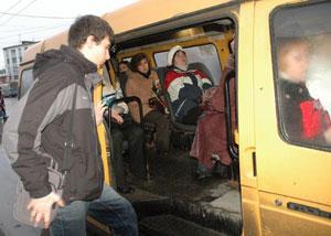 Омские газелисты больше не будут возить пассажиров стоя