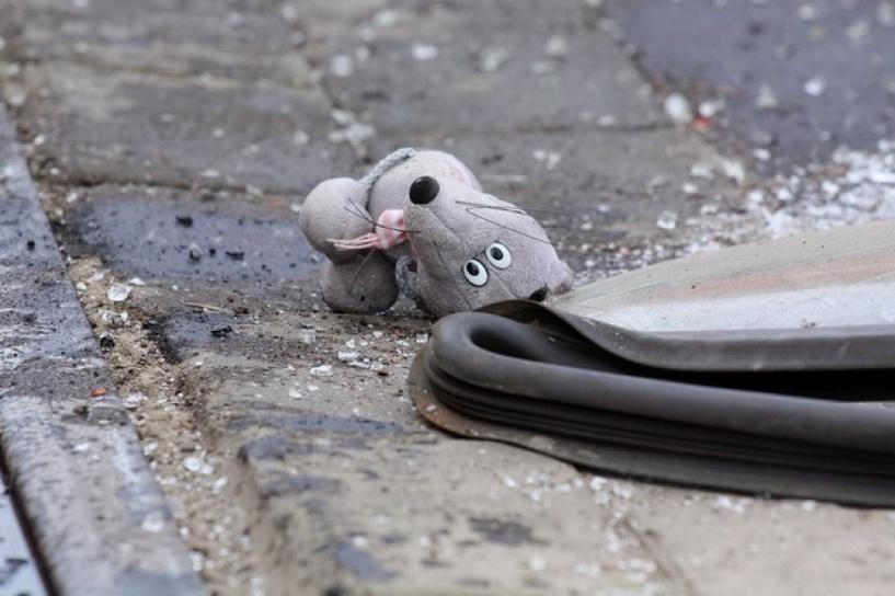В Омске водитель иномарки сбил семилетнюю девочку