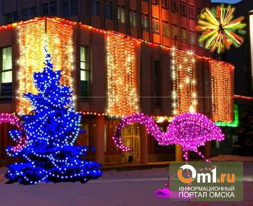К 300-летию Омска мэрия выставит на улицы светящихся розовых фламинго