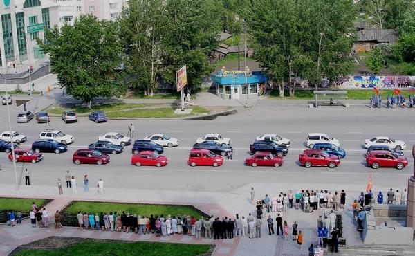 Омские автолюбители попытаются установить рекорд