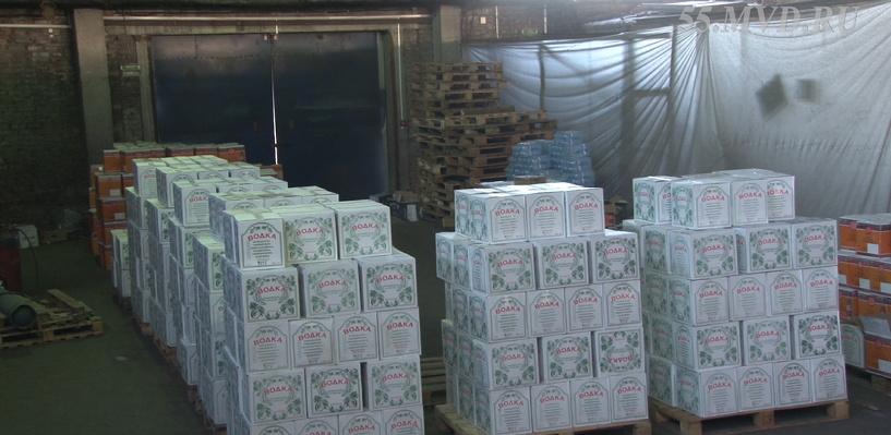 В Омске хотели ограбить склад водки на 3 млн рублей