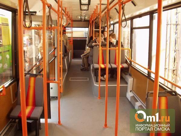 В Омске в пассажирском автобусе упала пенсионерка