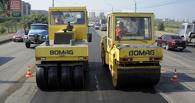 В Омске полным ходом латают дыры на дорогах