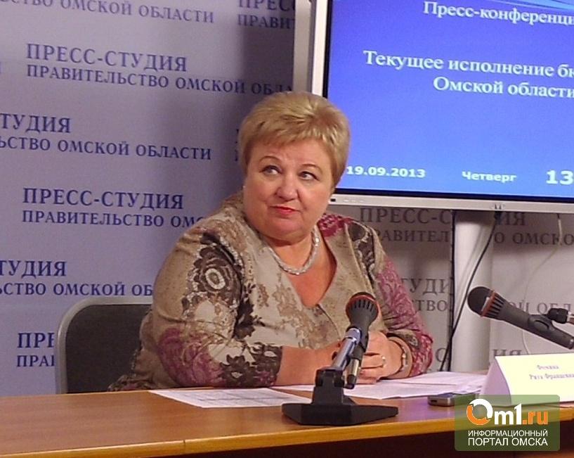 Дефицит бюджета Омской области за 9 месяцев вырос до 4,4 миллиарда