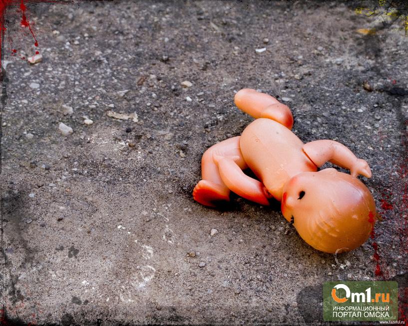 Омичка родила ребенка на заброшенной даче и оставила его там
