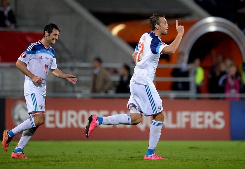 7:0. Сборная России по футболу разгромила Лихтенштейн
