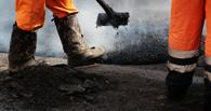 В Омске продолжают ремонт дорог, несмотря на дожди