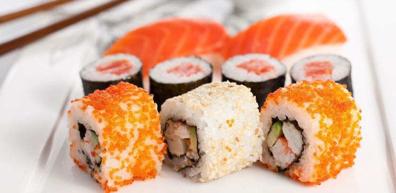 Новогоднее настроение с суши-баром «Зебры»