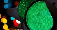 Пробку у метромоста в Омске хотят уменьшить за счет новой схемы работы светофора