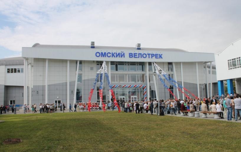 В Омске олимпийский велотрек открыл двери для спортсменов