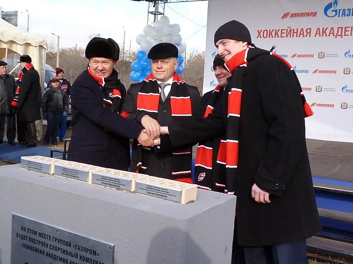 Хоккейную академию «Авангард» начнут строить в 2015 году