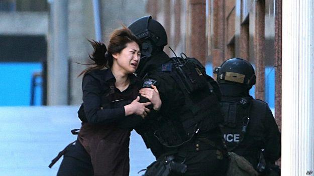 Штурм кафе в Сиднее: трое погибших, четверо раненых