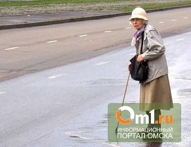 В Калачинске неопытный водитель насмерть сбил старушку