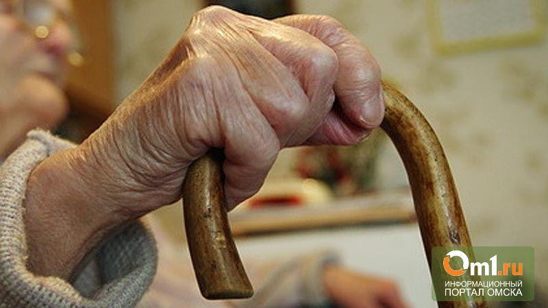 В Омской области 20-летний отморозок убил старушку ее же тростью