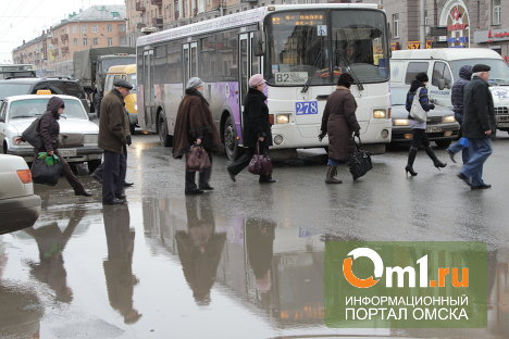 В Омск пришел четырехдневный непрекращающийся дождь