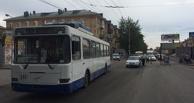 У ДК Малунцева троллейбус насмерть сбил женщину