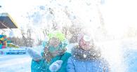 В Омске отметили День снега. Фото
