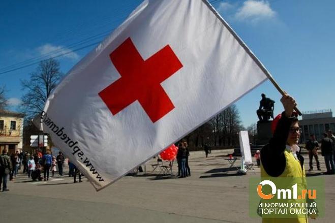 В Донецке взяли в заложники добровольцев «Красного креста»