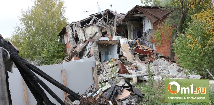 Сегодня определится дата сноса дома на Тепловозной, рухнувшего из-за взрыва газа