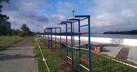 На Иртышской набережной в Омске заменят тренажеры