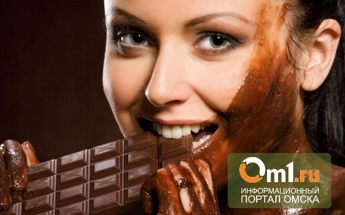 Омичка украла из магазина шоколадки