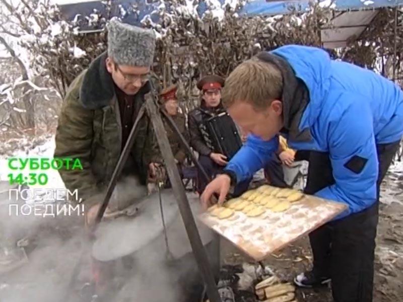 Ведущий НТВ Джон Уоррен показал Омск в программе «Поедем, поедим!»