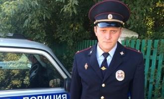 В Омской области участковый спас инвалида от гибели в огне