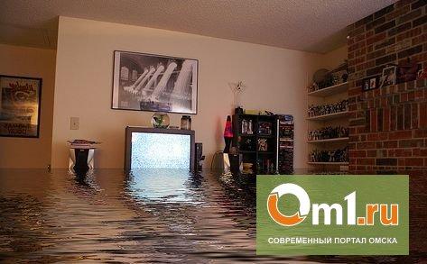 В Омске после «апокалиптического» ливня дождем затопило 18 квартир